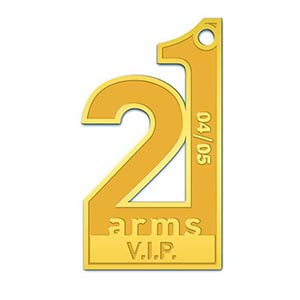 21 Arms Night Club - 2 Tone Gold