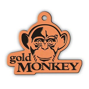 Gold Monkey - Antique Copper