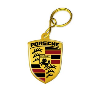 Key Ring Porsche